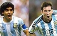 Vì sao Messi không được yêu như Maradona ở Argentina?