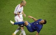 Zidane vĩ đại hơn sau pha húc đầu vào Materazzi