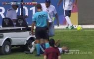 Cầu thủ Brazil dính 'cú đúp' chấn thương bởi điều không tưởng