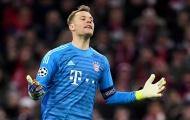 Neuer trở thành điểm đen trong ngày Hùm xám thất trận