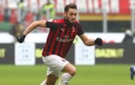 XONG! AC Milan có động thái chốt tương lai Hakan Calhanoglu
