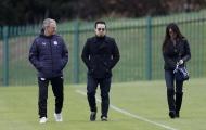 Chùm ảnh: Leicester đón 'khách quý' trước cuộc đối đầu với Atletico