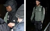 Sao Man Utd mặt mày 'đưa đám' hành quân đến Merseyside