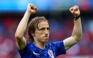 Luka Modric vắng mặt ở trận gặp Tây Ban Nha