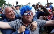 Người Pháp mở hội mừng chiến thắng sau khi vào tứ kết