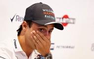 Felipe Massa xúc động phát khóc khi công bố ngày giải nghệ