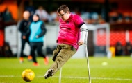 Scotland: CĐV 1 chân ghi bàn đẹp nhất tháng