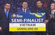 Tuyển Việt Nam được thưởng hơn 1 tỷ đồng sau AFF Cup