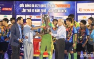 Đánh bại Thái Lan, Yokohama lên ngôi vô địch giải U21 Quốc tế 2016