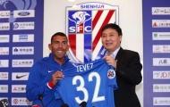 Tevez nói gì về mức lương cao nhất thế giới?