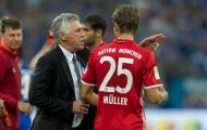 Muller bất ngờ ám chỉ về chiến thuật của Carlo Ancelotti