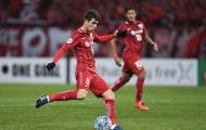 Oscar ghi bàn ngay trận ra mắt ở Trung Quốc