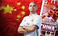 Chia tay Real, Pepe sẽ đến Trung Quốc thi đấu?