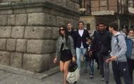 Bạn gái Ronaldo bị chỉ trích vì mặc váy quá ngắn