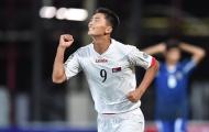 Sao trẻ Triều Tiên lập thành tích chưa từng có trong lịch sử