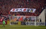 Đội bóng Trung Quốc chịu vạ vì CĐV miệt thị đối thủ