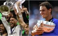 Real Madrid và Nadal: 8 liên kết thú vị giữa hai nhà vua