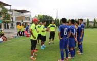 U15 Việt Nam sẵn sàng trước trận đấu với U15 Đài Bắc Trung Hoa