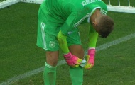 Thủ môn U21 Đức xài bùa để loại U21 Anh?