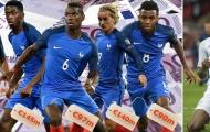 Pháp vượt Anh trở thành đội tuyển giá trị nhất thế giới