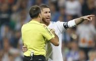 Ramos tố trọng tài thiên vị Barca sau thất bại