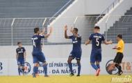 Tuyển thủ U20 ghi bàn, B. Bình Dương khiến SHB Đà Nẵng ôm hận ngay trên sân nhà