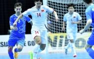 Thua Uzbekistan, đội futsal Việt Nam nên tự trách mình