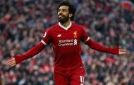 Salah khởi đầu xuất sắc thứ 6 trong lịch sử Premier League