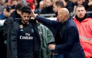 Tỏ thái độ với Zidane, Isco bị Ramos chửi thẳng mặt