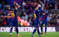 Barca cần thêm 25 điểm nữa để vô địch Liga