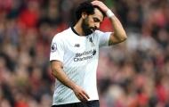 Vua ghi bàn Salah bỏ lỡ… nhiều cơ hội nhất