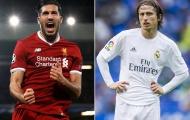 Sắp mất Emre Can, Liverpool hỏi mua sao Real Madrid thay thế