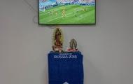 Messi lập... bàn thờ trong phòng thay đồ ở World Cup 2018