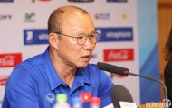 """HLV Park Hang-seo: """"Mỗi trận đấu ở ASIAD đều là trận chung kết"""""""