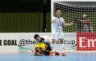 Đánh bại nhà vô địch Nhật Bản, Thái Sơn Nam vào bán kết futsal châu Á