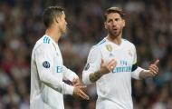 Ramos phản pháo Ronaldo: Real Madrid như một gia đình
