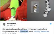 'Quảng cáo' cần sa, thủ môn tuyển Trung Quốc mang hoạ