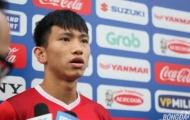 """Hậu vệ Văn Hậu: 'Tuyển Malaysia có kinh nghiệm nhưng bọn em có sức trẻ"""""""