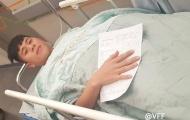 Đình Trọng phẫu thuật thành công tại Hàn Quốc, mất một tháng hồi phục