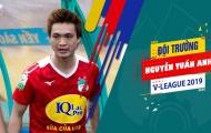 Tiền vệ Nguyễn Tuấn Anh được trao băng đội trưởng HAGL
