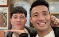 Bùi Tiến Dũng: 'Con tim đã vui trở lại khi được gặp Đình Trọng'