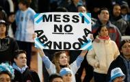CĐV Argentina cảm ơn Messi không bỏ đội tuyển