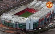Old Trafford xếp thứ 8 trên 10 SVĐ lớn nhất châu Âu
