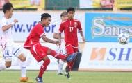 U19 Myanmar có chiến thắng đầu tiên ở giải U19 quốc tế 2017