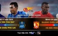 Chinese Super League vòng 14: Xem tướng tài đọ sức