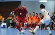 Futsal Việt Nam lại tiếp tục thất bại trước người Thái