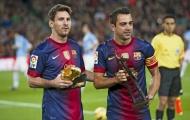 Messi phản ứng ra sao khi hay tin Xavi giải nghệ?