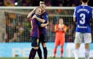 Iniesta nói gì trước tin đồn Rakitic chuyển đến MU?