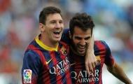 Fabregas: 'Tôi đã thấy một điều rất khó tin ở Messi'