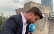 Pique: 'Tôi sẽ mời Florentino Perez đến Davis Cup'